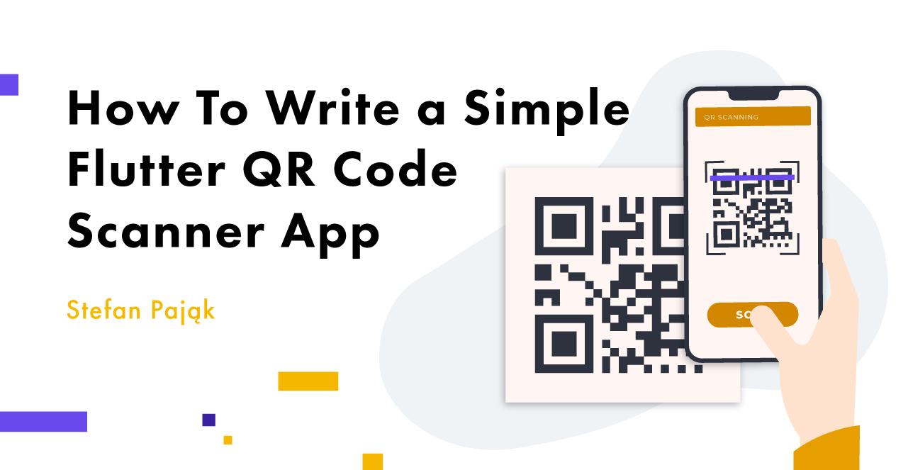 flutter qr code scanner app