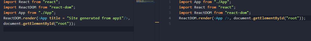 diff Index files